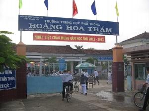 CTTB_Truong THPT Hoang Hoa Tham Dien Khanh